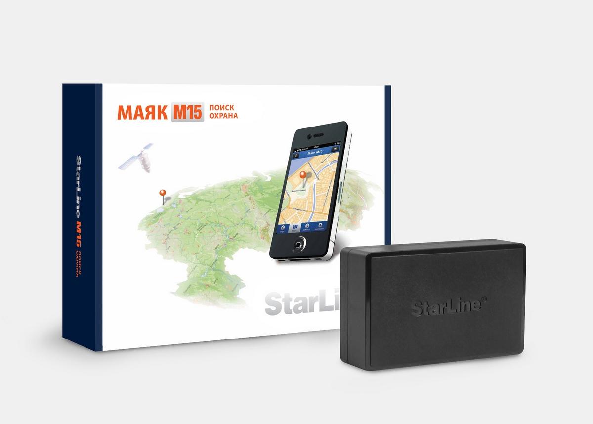 GPS маяк StarLine M15 - цена, описание, характеристики Купить в АвтоСтрим