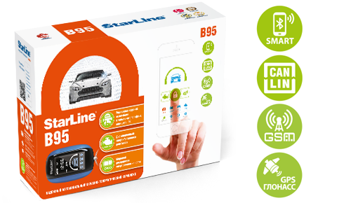 GSM автосигнализация StarLine B95 BT CAN+LIN GSM GPS №4